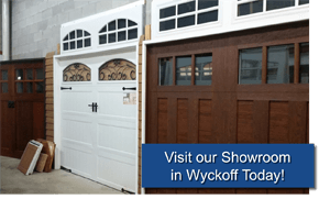 Aquarius Door Services Showroom in Wyckoff