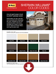 Canyon Ridge Collection Sherwin Williams Color Codes in Wyckoff