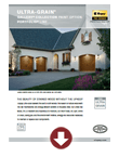 Ultra Gain Paint Option Brochure in Wyckoff