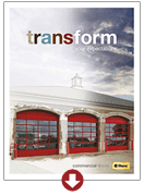 Industrial Series Commercial Doors Overview in Wyckoff
