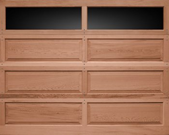 Recessed Panel Wood Garage Doors Model 20/10  in Wyckoff