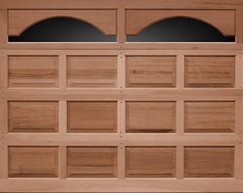 Raised Panel Wood Garage Doors model 44 in Wyckoff