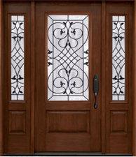 Fiberglass entry doors rustic collection in Wyckoff & Ridgewood, NJ